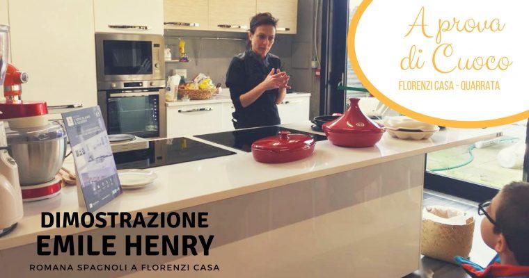 La degustazione con i prodotti di Emile Henry a cura di Romana Spagnoli