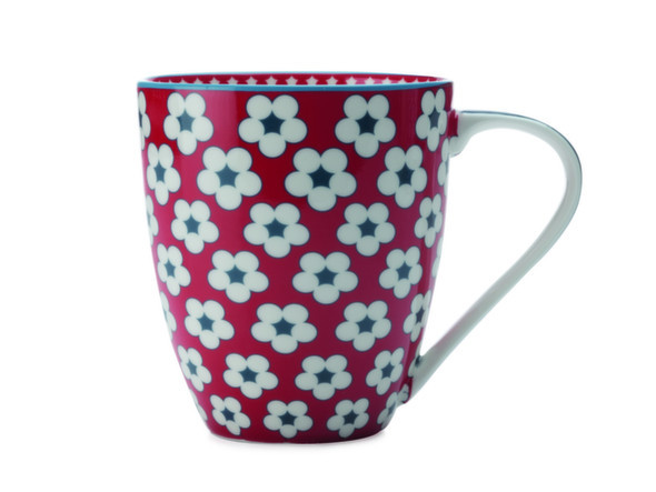 Cotton Bud Mug rosso ,500 ml , Christopher Vine. @ Florenzi Casa