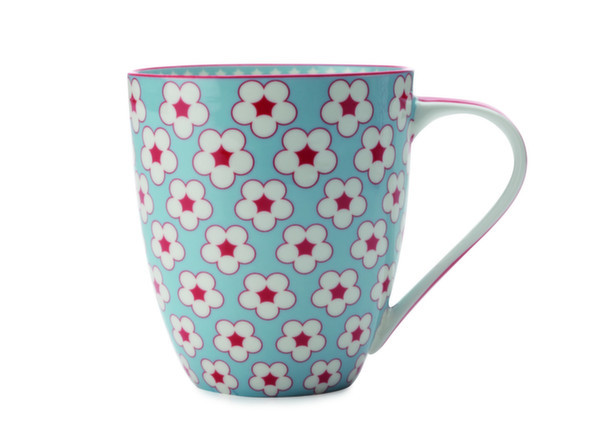 Cotton Bud Mug azzurro , 500 ml , Christopher Vine. @ Florenzi Casa