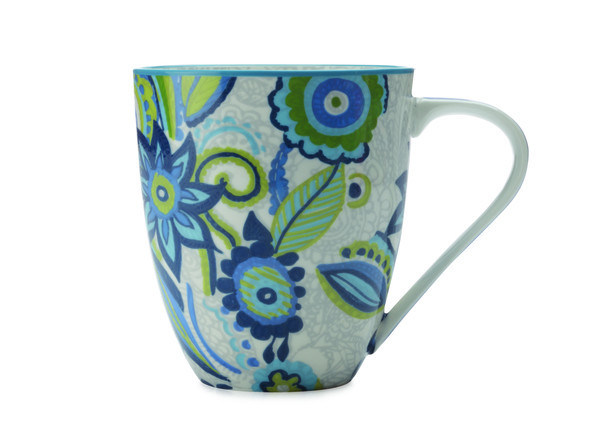 Gypsy Mug blu, 500 ml , Christopher Vine. @ Florenzi Casa